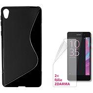 CONNECT IT S-COVER pre Sony Xperia E5 čierny - Ochranný kryt