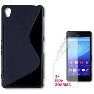 CONNECT IT S-Cover Sony Xperia Z3 čierny - Ochranný kryt