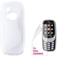 CONNECT IT S-COVER pre Nokia 3310 (2017) číre - Puzdro na mobil