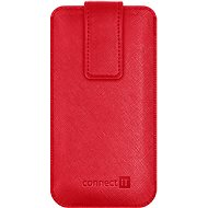 CONNECT IT U-COVER veľ. S, červené - Puzdro na mobil