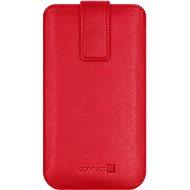 CONNECT IT U-COVER vel. XL, červené - Puzdro na mobil