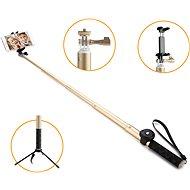 Gogen BT Selfie 4 teleskopický zlatý - Selfie tyč