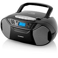 Hyundai TRC 333 AU3BTB čierny - Rádiomagnetofón
