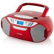 Hyundai TRC 333 AU3BTR červený - Rádiomagnetofón