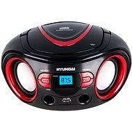 Hyundai TRC 533 AU3BR čierno-červený - Rádio