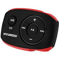 MP3 prehrávač Hyundai MP 312 8 GB čierno-červený - MP3 přehrávač