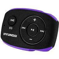 Hyundai MP 312 8GB, čierno-fialový - MP3 prehrávač