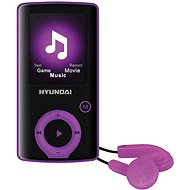 Hyundai MPC 883 FM 16GB fialová - MP4 prehrávač