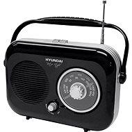 Hyundai PR 100 Retro čierny - Rádio