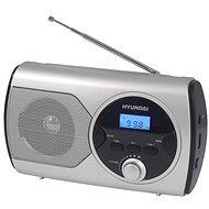 Hyundai PR 570 PLL S strieborné - Rádio
