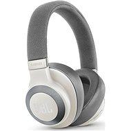 JBL E65BT Noise cancelling biele - Slúchadlá s mikrofónom