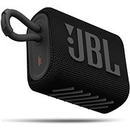 JBL GO 3 čierny - Bluetooth reproduktor