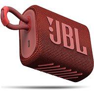 JBL GO 3 červený - Bluetooth reproduktor