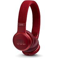Bezdrôtové slúchadlá JBL Live 400BT červené