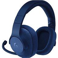 Logitech G433 Surround Sound Gaming Headset modrý - Herné slúchadlá