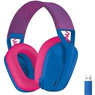Logitech G435 LIGHTSPEED Wless Gaming Headset modré
