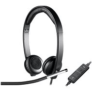 Logitech USB Headset H650e - Slúchadlá