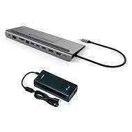 I-TEC USB-C Metal Low Profile 4K Triple Display dokovací stanice s Power Delivery 85 W + I-TEC unive