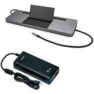 i-tec USB-C 4K 3× Display Docking Station, PD 85 W + Universal Charger 112 W - Dokovacia stanica