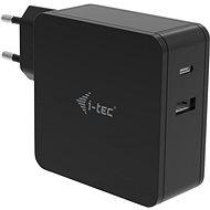 I-TEC USB-C Charger 60 W + USB-A Port 12 W - Univerzálny napájací adaptér