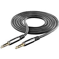Cellularline Unique Design audio cable na iPhone čierny