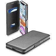 CellularLine Book Clutch pre Apple iPhone 11 čierne - Puzdro na mobil