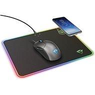 Trust GXT 750 Qlide RGB podložka pod myš s bezdrôtovým nabíjaním