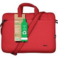 """Trust Bologna Laptop Bag 16"""" ECO - Red"""