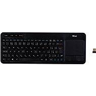 Trust Veza Wireless Touchpad Keyboard CZ + SK - Klávesnica