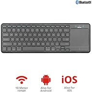Trust Mida Wireless Bluetooth Keyboard with XL touchpad - Klávesnica