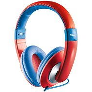Trust Sonin Kids Headphone červené - Slúchadlá pre deti