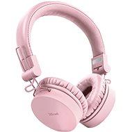 Trust Tones Wireless Headphones ružové