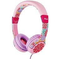 Trust Spila Kids Headphone – kvietok - Slúchadlá