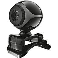 Trust Exis Webcam – čierno-strieborná - Webkamera