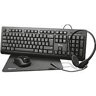 Trust Primo 4-in-1 Home Office Set – CZ/SK - Set klávesnice a myši