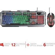 TRUST GXT845 TURAL US - Set klávesnica a myš