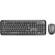 TRUST NOVA WIRELESS DESKSET CZ/SK - Set klávesnice a myši