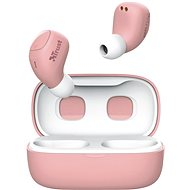 Trust Nika Compact Bluetooth Wireless Earphones ružové - Bezdrôtové slúchadlá