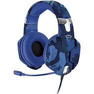 Trust GXT 322B Carus Gaming Headset for PS4 – camo blue