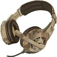 Trust GXT 310D Radius Gaming Headset – desert camo - Herné slúchadlá