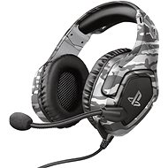 Trust GXT 488 FORZE-G PS4 HEADSET GREY (PS4 Licensed) - Herné slúchadlá
