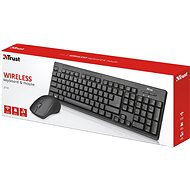Trust Trust Ziva wireless keyboard and mouse CZ/SK