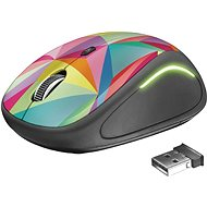 Trust Yvi FX Wireless Mouse – geometrics