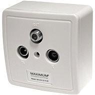 Maximum TV/R/SAT MX 610 Set - Zásuvka