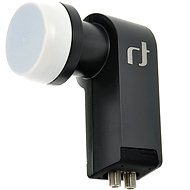 Twin Inverto Black Premium 0.2 dBi, 2× konektor F - Konvertor