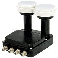 Inverto Quad Monoblock, 2× konvertor 0,2 DBi, 4× konektor F - Konvertor