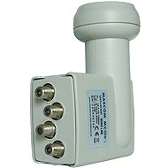 Mascom MCQS02HD Quad LNB 0,2 dB - Konvertor