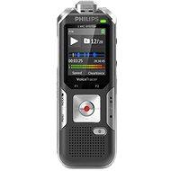 Philips DVT6010 čierno-strieborný - Digitálny diktafón