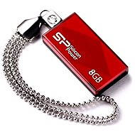 Silicon Power Touch 810 Red 8 GB - Flash disk