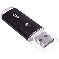 Silicon Power Ultima U02 Black 8GB - USB kľúč